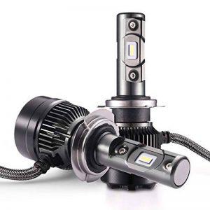 AUTLEAD Ampoules H7 LED - Phares pour Voiture, Faisceaux Hauts et Bas, Feux Antibrouillards, CSP 7200LM, 6500K Xenon Blanc, Tout-en-un Waterproof Kit de Conversion - 2 ans de garantie de la marque AUTLEAD image 0 produit