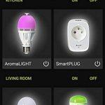 AwoX SKR2Lm-C9-E27 Smartlight Kit de 2 Ampoules Connectées Bluetooth Mesh + Télécommande E27 9 W Blanc Résine/Plastique 64 x 116 mm de la marque AWOX image 2 produit
