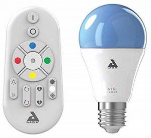 AwoX SKRLm-C9-E27 Smartlight Kit d'Ampoule Connectée Bluetooth Mesh + Télécommande 27 9 W Blanc Résine/Plastique 63 x 116 mm de la marque AWOX image 0 produit