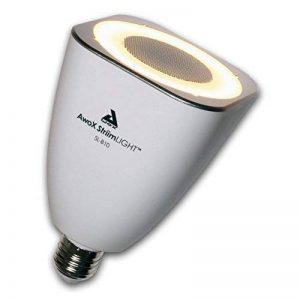 AWOX Strimlight SL-B10 Ampoule musicale Bluetooth MP3 ampoule led 110-240V haut parleur 10 W - blanc de la marque AWOX image 0 produit