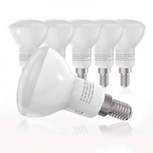 B.K. Licht lot de 5 ampoules LED, culot E14, éclairage intérieur, lumière blanche chaude, 230V, IP20, 5x6W à 450lm, remplace 40W, Ø 50 mm de la marque B.K.Licht image 0 produit