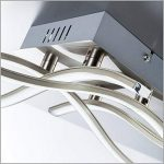 B.K. Licht plafonnier moderne, applique murale, 4 barres LED, 4X3,4W, lampe salon chambre chambre d'enfant bureau salle à manger couloir, éclairage intérieur, 230V, IP20 de la marque B.K.Licht image 3 produit