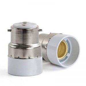 B22 vers E14 Base Douille Lampe Adaptateur Ampoule Support - 5 pièces de la marque Hakkatronics image 0 produit
