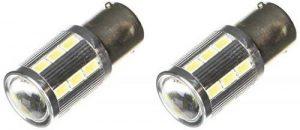 BA15S21WL - PY21W POWER SMD LED feux lumière clignotant ampoule, flash Indicateurs de direction feu de Jour, lampe, ampoule, Lumière BA15S 12V BLANC (broches opposées) de la marque akhan-tuning image 0 produit