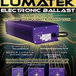 Ballast électronique LUMATEK 400 W + Ampoule HPS de MARQUE (Sylvania, Osram, Philips) de la marque Lumatek image 1 produit