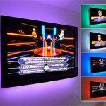 Bande LED USB Rétroéclairage TV,Makion 100cm / 3.28ft multi-couleurs 30leds flexible 5050 USB RGB LED bande de lumière avec le câble USB 5v et Mini Controller pour TV / PC / ordinateur portable Rétro-éclairage de la marque Makion image 2 produit