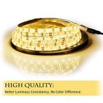 Bande Lumineuse LED,Ruban LED, Blanc Chaud,300LEDs,5M et Transformateur 12V 5A. de la marque LEDMO image 2 produit