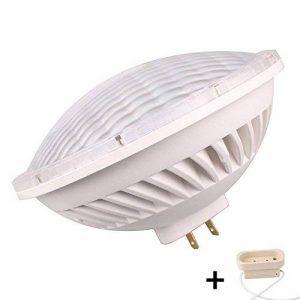 BAOMING PAR56 GX16D Base 30 W 240 V Ampoules LED SMD ampoule halogène 300 W équivalent Large Faisceau Angle du faisceau Blanc Chaud 3000 K éclairage intérieur de la marque BAOMING image 0 produit
