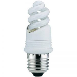Base ampoule fluocompacte 7W E27 blanc chaud Paulmann de la marque Paulmann image 0 produit