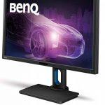 BenQ BL2711U, Écran 27 Pouces Spécialement Conçu pour les Designers, Résolution 4K 3840 x 2160, 100% sRGB et Rec. 709, Technologie IPS, Modes Animation, CAO/FAO, Low Blue Light, Flicker Free, Pied Réglable en Hauteur de la marque BenQ image 4 produit