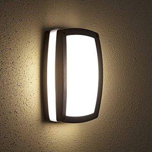 Biard - Applique Extérieure LED E27 9 W - Design Hublot Rectangulaire Noir - Éclairage Jardin de la marque Biard image 0 produit