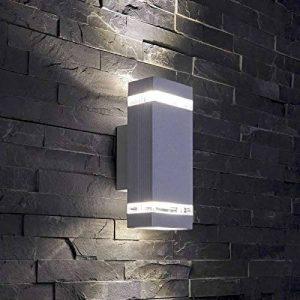 Biard - Applique Extérieure Murale LED GU10 - Double Faisceau - Design Rectangulaire Gris de la marque Biard image 0 produit