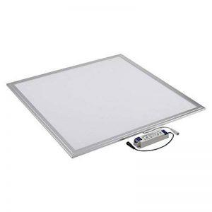 Biard Plafonnier LED - Dalle Lumineuse 60x60cm - Cadre Gris - Panneau Basse Consommation 40W - Blanc Naturel de la marque Biard image 0 produit
