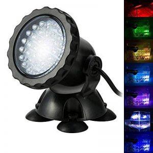 Bloowmin-3.5W 12V Lampe Spot Light Projecteur 36 LEDs Submersible Aquarium Multicolore Réglable Basse Consommation Lumiere UE de la marque Bloomwin image 0 produit