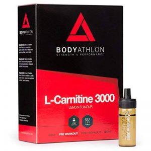 BodyAthlon L-Carnitine Liquide 3000 mg, Brûleur de Graisse, 20 flacons 10 ml de la marque BodyAthlon image 0 produit