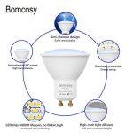 Bomcosy Ampoule LED GU10 7W, Blanc Froid 6000K, Spot à LED, Équivalent 60W, 600lm, L'angle d'émission de 120, Non Dimmable, Lot de 10 de la marque Bomcosy image 3 produit