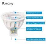 Bomcosy Lot de 10 Ampoule LED GU5.3 MR16 12V 5W 3000K Blanc Chaud 50W Halogène Spot équivalent 420LM Angle de Faisceau de 35° Non Dimmable de la marque Bomcosy image 2 produit