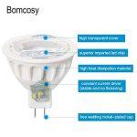 Bomcosy Lot de 10 MR16 Ampoules LED 5W GU5.3 12V 6000K Blanc Froid 50 W Spot Halogène équivalent 420 Lumens Angle de Faisceau de 35° Non Dimmable de la marque Bomcosy image 4 produit