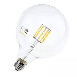Bonlux 10W G125 E27 Filament LED verre globe Blanc Neutre 4000K 220v 125mm ES Edison vis LED 100W Incandescent Equivalent de la marque Bonlux image 0 produit