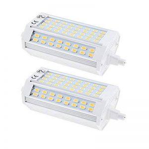 Bonlux 2-pack 25W R7s 118MM Tube LED linéaire Cool blanc 6000K 200 degrés Super Bright J Type R7s J118 LED projecteur halogène ampoule 200W remplacement (Non-dimmable) de la marque Bonlux image 0 produit