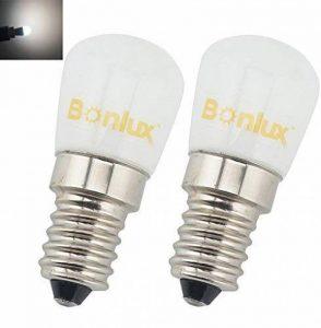 Bonlux 2-packs 1.5W SES LED lampe Cool blanc 6000 K 220-240 volts 15 watts équivalent petit Edison à vis E14 LED pygmée ampoule pour réfrigérateur / four micro-ondes / cuisinière hotte / Sewing Machine de la marque Bonlux image 0 produit