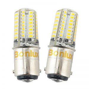 Bonlux 2-PCS Ba15d Ampoule LED DC 12V 3W Blanc Froid 6000K Double Contact Baïonnette SBC Ba15d 1141 1156 1073 1093 1129 Remplacement de LED pour l'intérieur RV Camping-Eclairage de la marque Bonlux image 0 produit