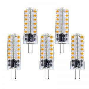 Bonlux 3.5W G4 Ampoule Capsule LED Bi-Pin Douille Blanc Chaud 3000K AC/DC 12V Equivaut à l'Ampoule Halogène 35W-40W, Non-dimmable G4 JC Type d'Ampoule LED (5-Pcs) de la marque Bonlux image 0 produit