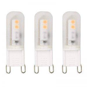 Bonlux 3-PCS 2W LED G9 Ampoule Blanc chaud 3000k 220V T3 LED 200 lumens avec LED Chips en haute luminosité G9 LED ampoule comme éclairage intérieur, lampe de table, éclairage de décoration de la marque Bonlux image 0 produit