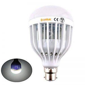 Bonlux B22 UV LED Bug Zapper Ampoule Lampe anti-insectes Lampe anti moustiques Blanc Froid 10W LED Intérieur Extérieur pour la maison Cuisine Garage Porche de la marque Bonlux image 0 produit