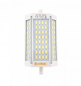 Bonlux LED R7S 30W J118 Dimmable Ampoule Doublé Extrémités Blanc Chaud 3000k 118mm 64 x 5730 SMD Remplacement de 300W R7S Ampoule Halogène de la marque Bonlux image 0 produit