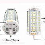 Bonlux LED R7S 30W J118 Dimmable Ampoule Doublé Extrémités Blanc Chaud 3000k 118mm 64 x 5730 SMD Remplacement de 300W R7S Ampoule Halogène de la marque Bonlux image 2 produit