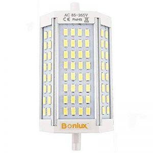 Bonlux R7s 118 mm Ampoule LED à intensité variable 30 W, 300 W R7s Liner Projecteur halogène de remplacement Blanc chaud 3000 K à double extrémité J Type J118 Lampe (sans ventilateur) de la marque Bonlux image 0 produit