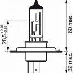 Bosch 684107 Pure Light 1 Ampoule H7 12 V 55W de la marque Bosch image 4 produit