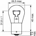 Bosch 684851 Longlife Daytime 2 Ampoules P21W 12 V 21W de la marque Bosch image 1 produit