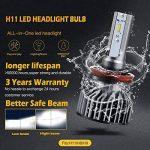 BOSWEE H11 72W 7800LM LED Phare Auto Car Lampe Feux Conversion Ampoule Light 6500K - 3 ans de garantie de la marque BOSWEE image 4 produit