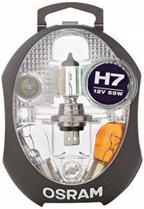 Boîte de lampes de rechange OSRAM ORIGINAL H7, lampes de phares halogènes, 12V véhicules de tourisme, CLKM H7, ensemble complet de lampes de rechange (1 pièce) de la marque Osram image 0 produit