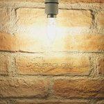 Bougie Filament B22 Auraglow 4w LED blanc chaud 2700k - 470 Lumens - ampoule rétro, équivalent 40w de la marque Auraglow image 1 produit