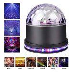Boule de Disco de LED, Lampe Disco D'effet de Lumière de RVB, Lumières D'étape de partie, Boule Magique de Cristal,Lampe de Projecteur pour Partie, Pièce, DJ, Club, Anniversaire, KTV de la marque vientiane image 1 produit