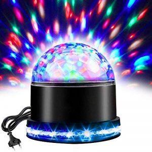 Boule de Disco de LED, Lampe Disco D'effet de Lumière de RVB, Lumières D'étape de partie, Boule Magique de Cristal,Lampe de Projecteur pour Partie, Pièce, DJ, Club, Anniversaire, KTV de la marque vientiane image 0 produit