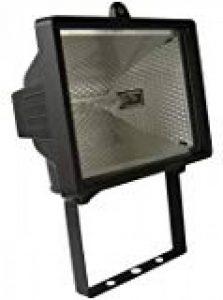 Brennenstuhl Projecteur halogène (IP 44) avec détecteur de mouvements infrarouge, spot halogène (400 W) avec interrupteur crépusculaire, Quantité : 1 de la marque Brennenstuhl image 0 produit