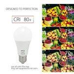 BRTLX 12W E27 Ampoule LED Blanc Chaud 3000K A60 100 Watt Ampoules à incandescence Équivalent Angle De faisceau De 200 Degrés 1080Lm Non-Dimmable Givré 4-Pack de la marque BRTLX image 3 produit