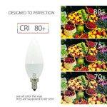 BRTLX Ampoules LED E14 7W 560LM Blanc Froid 6000K Équivalent Ampoule Incandescente 60W Angle de Diffusion 150° Lot de 4 de la marque BRTLX image 3 produit