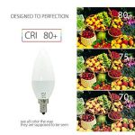 BRTLX Ampoules LED E14 7W Blanc Chaud 3000K Équivalent Ampoule Incandescente 60W 560LM Angle de Diffusion 150° Lot de 4 de la marque BRTLX image 3 produit