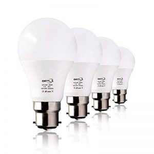 BRTLX Ampoules LED Standard Culot B22, A60 13W équivalent 100W, Blanc Chaud 3000K, Dépolie, Lot de 4 de la marque BRTLX image 0 produit