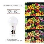 BRTLX Ampoules LED Standard Culot B22, A60 13W équivalent 100W, Blanc Chaud 3000K, Dépolie, Lot de 4 de la marque BRTLX image 3 produit