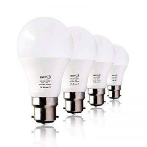 BRTLX Ampoules LED Standard Culot B22, A60 13W équivalent 100W, Blanc Froid 6000K, Dépolie, Lot de 4 de la marque BRTLX image 0 produit