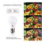 BRTLX Ampoules LED Standard Culot B22, A60 13W équivalent 100W, Blanc Froid 6000K, Dépolie, Lot de 4 de la marque BRTLX image 3 produit