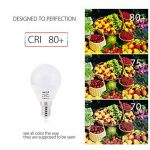 BRTLX Ampoules LED Standard Culot E14, G45 5W équivalent 45W, Blanc Chaud 3000K, Dépolie, Lot de 4 de la marque BRTLX image 3 produit