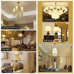 BRTLX Ampoules LED Standard Culot E14, G45 5W équivalent 45W, Blanc Froid 6000K, Dépolie, Lot de 4 de la marque BRTLX image 4 produit