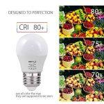 BRTLX Ampoules LED Standard Culot E27, 3W équivalent 25W, Blanc Chaud 3000K, Dépolie, Lot de 4 de la marque BRTLX image 3 produit
